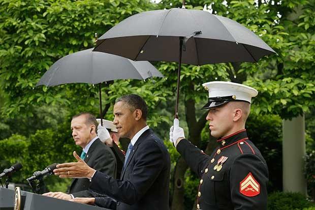President Barack Obama and Turkish Prime Minister Recep Tayyip Erdogan.
