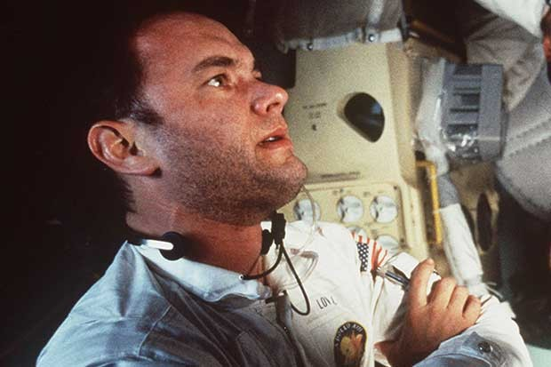 "Tom Hanks in ""Apollo 13."""