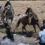 【美国安部称将调查德州边境骑马挥鞭驱逐海地难民事件】