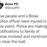 【愛達荷州購物中心突發大規模槍擊案 兩死六傷 凶嫌在押】