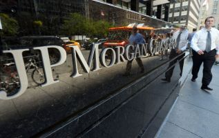 JP Morgan says trading revenues for this quarter will be down 3