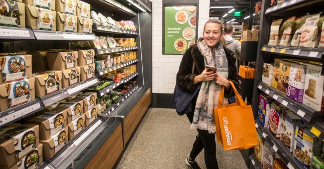 20% of adults will order groceries with an app by 2019, forecast says 1