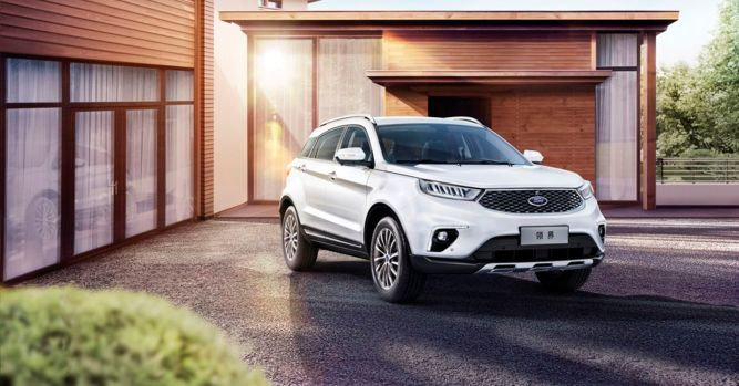 Automaker releases mid-size SUV in China 4
