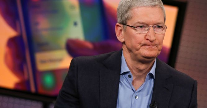 The last time Apple shares did this, the stock rallied 75 percent in 12 months 3