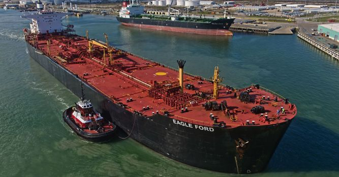 US crude oil exports hit a record high last week 2