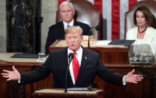 Trump, in State of the Union, pushes for a 'great rebuilding of America's crumbling infrastructure' 3
