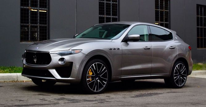 Maserati Levante GTS delivers on speed with Ferrari engine 10