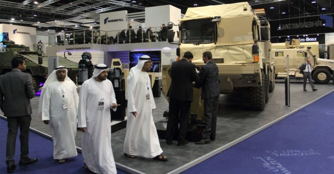 UAE announces IDEX weapons deals as Middle East arms spending climbs 1