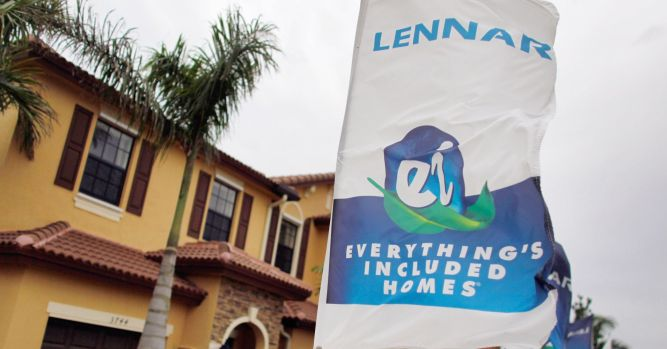 Homebuilder Lennar's quarterly profit jumps 76% 4