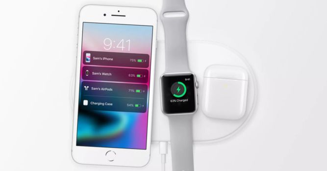 Apple AirPower supported by new AirPods 9