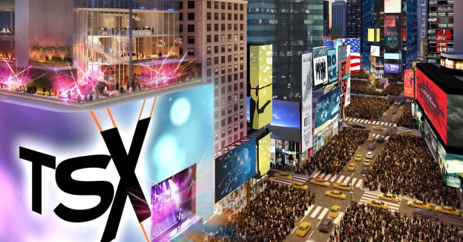 Times Square is about to get a giant new billboard called TSX Broadway 5
