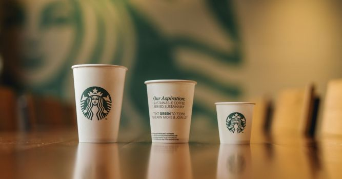 Starbucks announces trials for recyclable and compostable cups 10