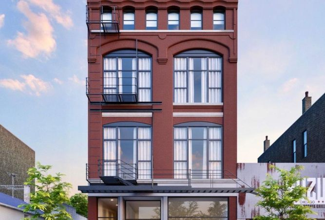 Chicago's West Town Arts District New Home For Major Contemporary Art Gallery 6