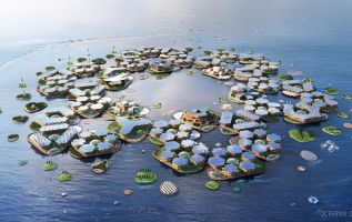 Waterworld? Floating Cities Turn Hollywood Sci-fi Into Reality As Sea Levels Rise 1