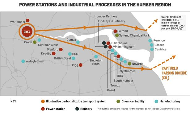 Humber region's net-zero carbon ambition would 'protect 55,000 jobs' 1