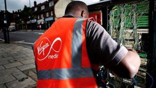 Virgin Media switches phone customers from BT to Vodafone 3