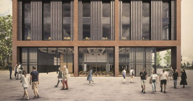VINCI Construction appointed as main contractor for Staffordshire University's £40m Catalyst building 1
