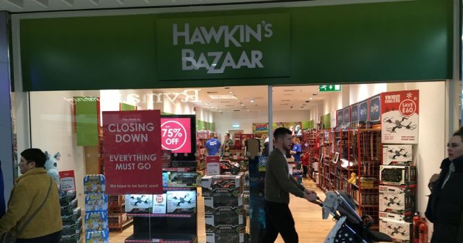 More than 170 jobs at risk as Hawkin's Bazaar falls into administration 1