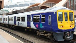 Northern rail services rapped as 'unacceptable' 3