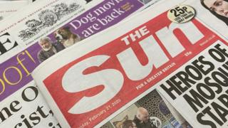 Sun's owner reports £68m loss as paper sales fall 3