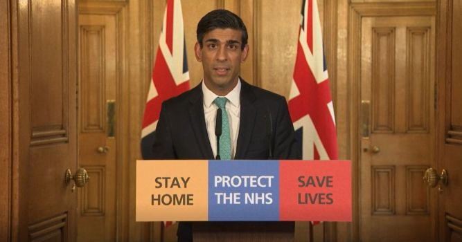 Chancellor Rishi Sunak unveils UK Government support package for self employed 1