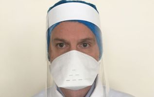 The Caerphilly paper straw firm making a million face shields a week 2
