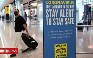 Covid-19: Arrivals in England to be able to cut quarantine if they pay for test 1