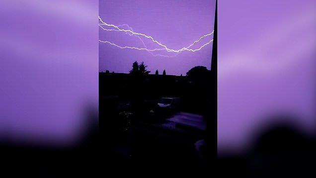 Heatwave ends with thunderstorms down south and more sun up north 1