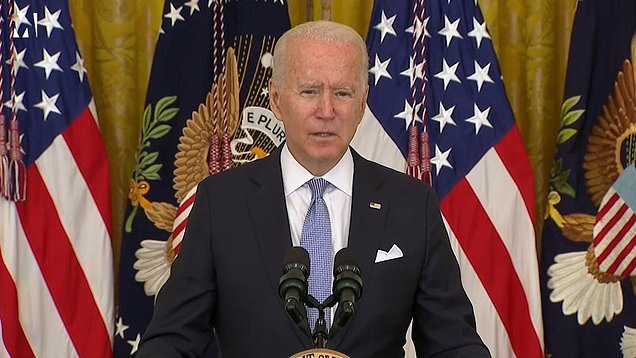 Joe Biden requires federal workers to get vaccinated or wear masks as Delta variant spreads 1