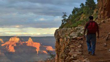 grand canyon np michael quinn nps photo bright angel trail sunset hero crop