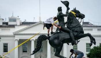 Feds arrest 'ringleader' in attack on Andrew Jackson statue by White House