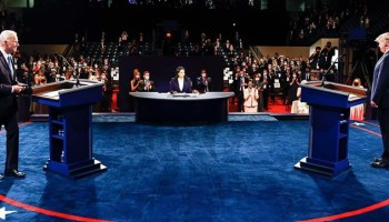 Trump, Biden clash on China, COVID in final presidential debate before election