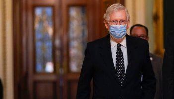 'Misses the Mark': McConnell Says Several Democratic Senators Don't Support Biden Stimulus Plan