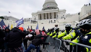 DHS Issues 'Heightened Threat' Alert After Transition, Warns of Potential Violence