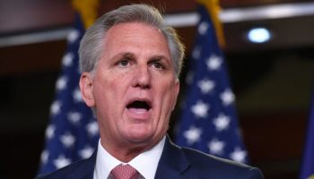 McCarthy Says Biden's Massive Tax-and-Spend Plans Make Bernie Sanders 'Look Like a Conservative'