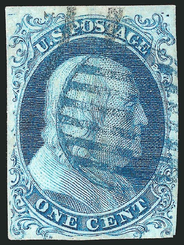 Franklin 1 Cent Us Postage Stamp