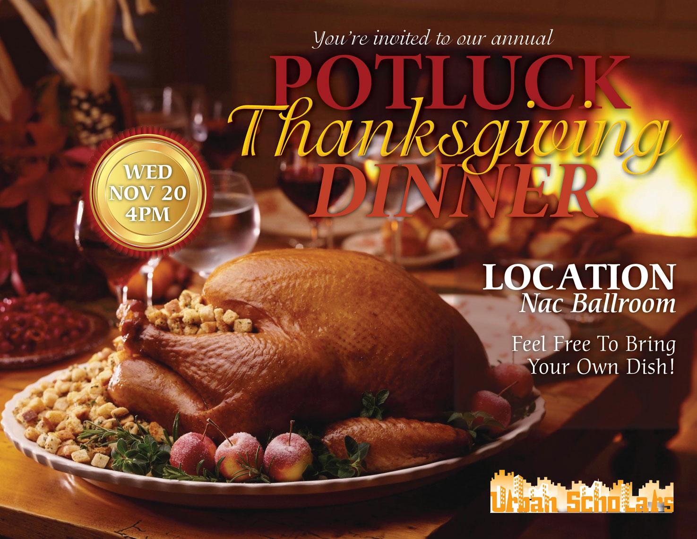 Potluck Thanksgiving Dinner