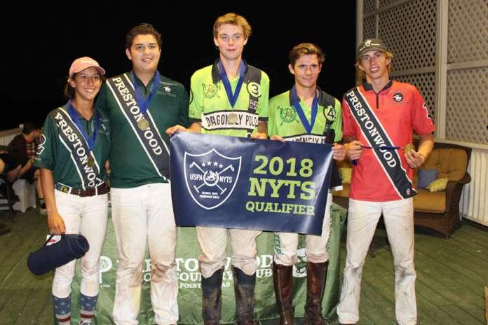 A Flight All-Stars (L to R) April Galindo, Johann Felhaber, Will Walton, Andrew Scott, Vaughn Miller.