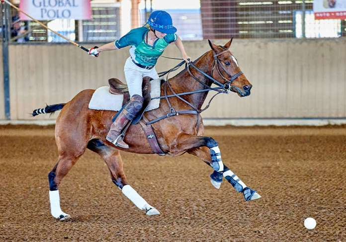 Ashley Owen competed in both the 0-3 goal and 3-6 goal tournaments at Brookshire Polo Club.
