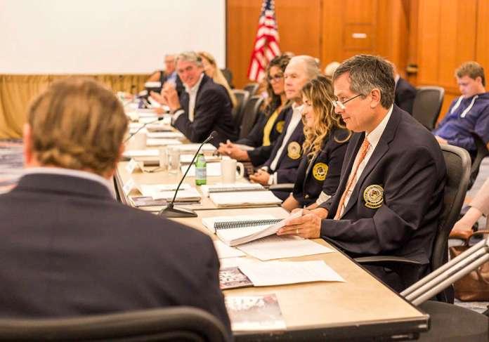 Bill Kirton at 2017 fall BOG meeting