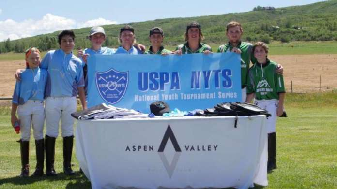 Eight talented players all smiles after the USPA NYTS qualifier. © ChukkerTV.