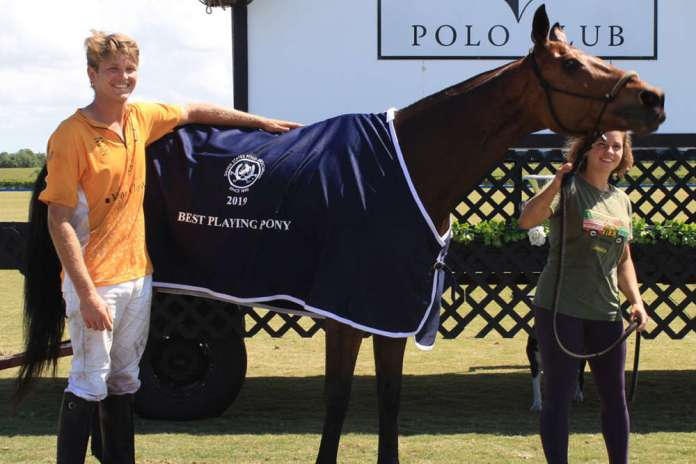 Best Playing Pony: Remy, played and owned by Jason Wates, pictured with Emma Sexton.
