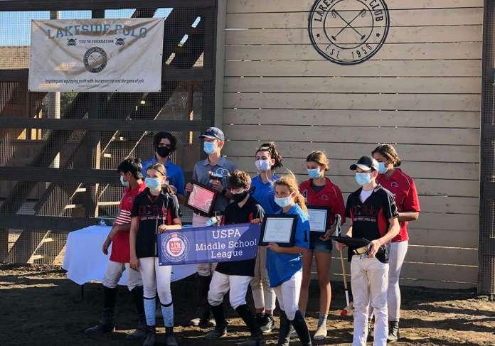 Lakeside Polo Club Western Region Middle School Tournament Participants.