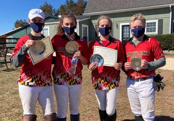 Southeastern Circuit I/I Club Challenge Cup Champions: Marlan Farm- Kyra Kepner, Kylie Beard, Izzy Brockett, Cort Resh.