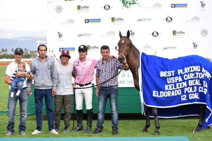 Best Playing Pony: Felina played by Rodriguez-Mera in the sixth chukker.