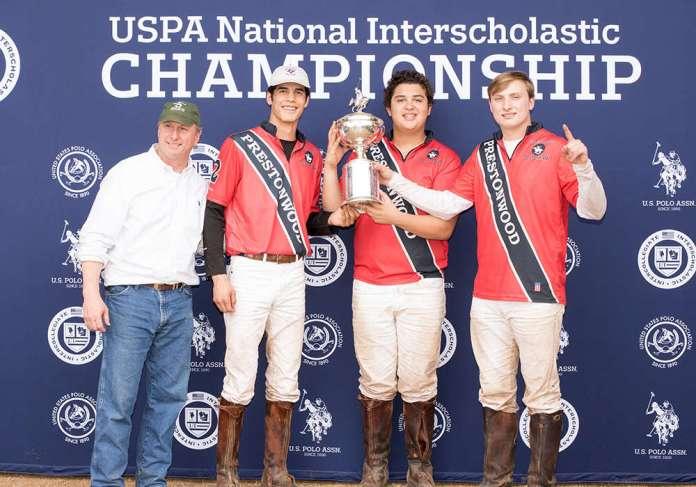 Prestonwood 2019 USPA ONIS Champions L to R: Vaughn Miller, Niklaus Felhaber, Johann Felhaber, Vance Miller III