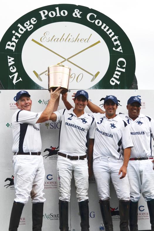2018 Copper Cup Champions: Skaneateles - Marty Cregg, Costi Caset, Mariano Obregon, Cesar Jimenez.