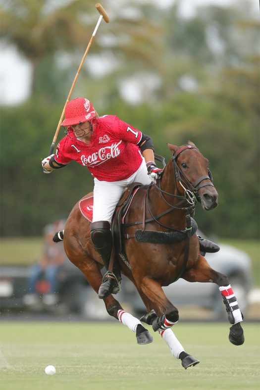 Next year marks Gillian Johnston's 20th anniversary of her U.S. Open Polo Championship® victory.