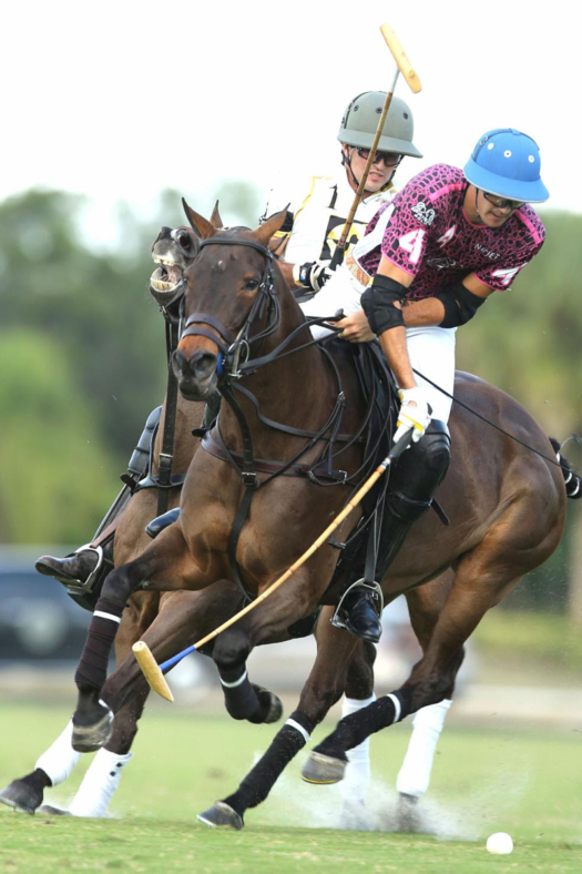 Hilario Figueras scored five goals against Palm Beach Equine in his opening game of the season.