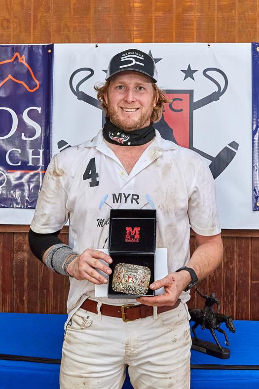 National Arena Amateur Cup Overall High-Point scorer Wyatt Myr.
